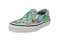 9d456b35b8  ad  disney  Vans Kids Classic Slip On Andy s Toys Disney Pixar Toy St