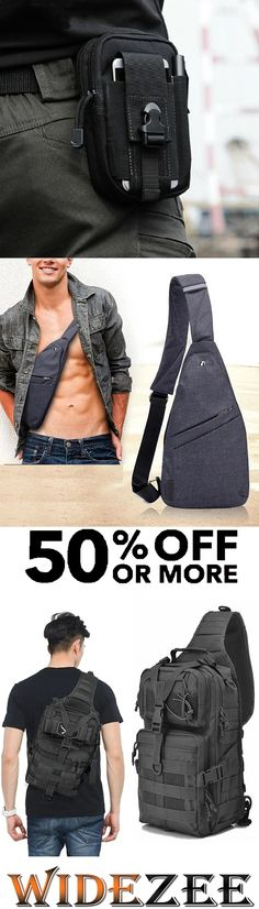 Shop the latest fashion chic clothing online,we offer the latest high-quality clothes, bags, shoes,and other fashion products only for men. Latest Fashion, Mens Fashion, Men's Fashion Brands, Waist Pack, Sport Casual, Buy 1, Chic Outfits, Sling Backpack, Wallets
