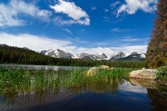 Lake in Rocky Mountain National Park.