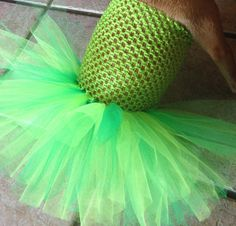 The Patty- St Patrick's day dog tutu dress green dog outfit wee bit Irish st paddys day parade Irish pride dog dress in green tutu for dogs