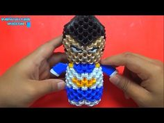 Origami 3D Mini Vegeta - YouTube