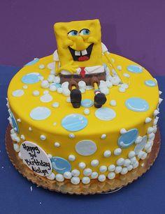 Sponge Bob Bubbles Cake