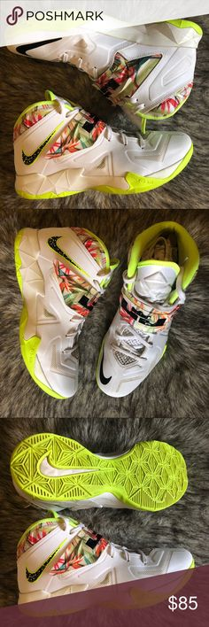843a9db983f886 Nike Lebron Soldier 7  Kings Pride  🦁 Basketball sneakers in good pre  owned condition