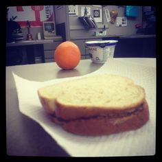 Lunch. #stateofthePB&J #yummy #superPB&JXLVIII #sotu #Superbowl