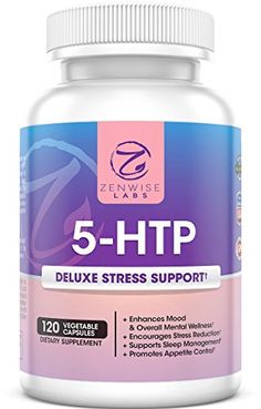 5-HTP - With 100mg of 5HTP + Vitamin B6 - Stress Relief & Mood Control Supplement - All-Natural Appetite Suppressant & Sleep Aid - 120 Vegetarian Capsules for Ultimate Stress Release - Zenwise Labs Zenwise Labs http://www.amazon.com/dp/B0106FQ5CA/ref=cm_sw_r_pi_dp_R0-qwb0Z67CVH