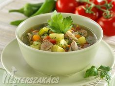 Magyaros bárányleves recept Potato Salad, Ale, Soup, Potatoes, Dishes, Ethnic Recipes, Desk, Plate, Desktop
