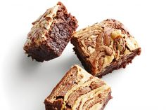 Peanut butter brownie - You'll fall in love with these chewy brownies with lush nutty swirls.