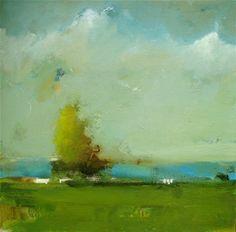 Eric Abrecht Tree oil on canvas 24 x 24