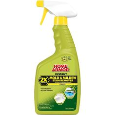 Terrific Product - Home Armor | Instant Mold & Mildew Stain Remover with bleach. Works so much better than just bleach!!!!!!!!