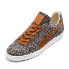 43da932c07ad40  MiJapan x  Puma Suede Angora - Limestone Grey Leather Brown  sneakers  Limestone