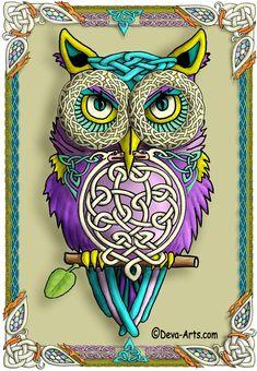 'Celtic Owl' from Deva-Arts
