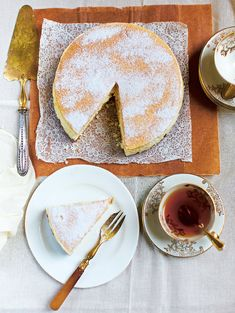 Tarte Au Fromage Blanc - The Happy Foodie