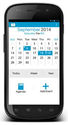 Android Calender App on Behance