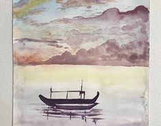 Sea of Tranquility Watercolour Painting, New Work, Behance, Paintings, Sea, Gallery, Creative, Artist, Check
