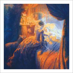 Sleeping Beauty by Wilhelm Grimm, Jacob Grimm. Illustrator Christian Birmingham.