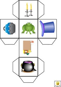 make a batch then use them for inventing Cube Template, Story Cubes, Build A Story, English Writing, Project Based Learning, Writing Resources, Writing Area, Craft Activities For Kids, Music Education