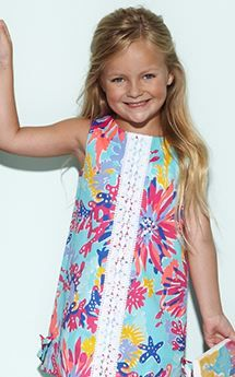 Lilly Pulitzer Resort '13- Little Lilly Classic Shift