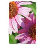 Cool coneflower kitchen towels