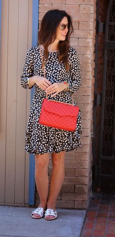 My Fancy Pants...: J.Crew Scattered Polka Dots & Kate Spade Avila