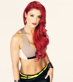 Natalie Eva Marie - is an American professional wrestler and fashion model. She is currently signed to WWE and is featured on Total Divas. She is of Mexican and Italian descent.