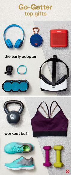 Checking off your Christmas gift list has never been easier. Check out The Wonder Gift List to find something awesome for your favorite techie or workout buff. For the tech lover, give the top gear and gadgets like Beats wireless headphones, speakers, a GoPro, Fitbit or a little VR fun. For the workout buff, gear that helps them reach their fitness goals is perfect. Kettlebells, hand-held weights and C9 Champion apparel are great picks that'll keep 'em going.