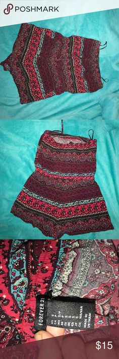 Forever 21 Romper Worn a handful of times. Great for the summer season. Forever 21 Other