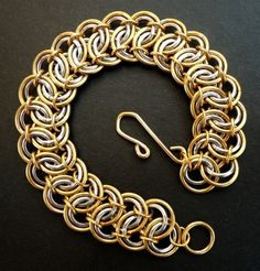 Mixed Metal Bracelet - by Lanzacreations