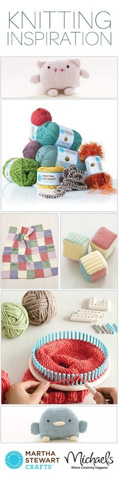 Discover all of the knitting projects you can create with our knit and weave loom kit.