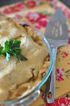 turkey pot pie -- gluten free + dairy free