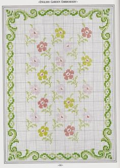 how to: mini needlework chart