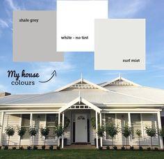 Exterior colours