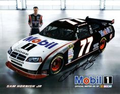 2009 Sam Hornish Jr. #77 Mobil 1 Hero Card SIGNED by Trackside Autographs. $22.95. This is an AUTOGRAPHED 2009 Sam Hornish Jr. #77 Mobil 1 Driver Card. This promotional hero card was SIGNED by Sam Hornish through a well-respected member of Global Authentication.