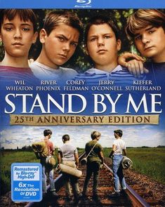 Great movie for pre teens (and anyone, really). Stand by Me deals with so many topics that are relevant no matter the time. Many actors that became big stars. Stand by Me [Blu-ray] (Bilingual) [Import] Good Comedy Movies, Man Movies, Netflix Movies, Stand By Me, Movie List, Movie Tv, Stephen King Film, Top Movies To Watch, Corey Feldman
