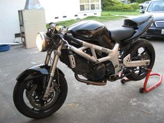 sv 650 front with forks