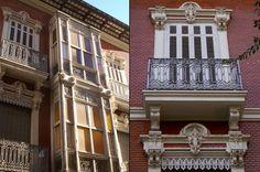 Plaza del Doctor Balmis. Alicante.   Curiosa y agradable plaza de estilo modernista.