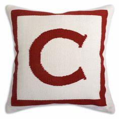 Jonathan Adler Red Letter Pillow in Red Letter Pillows