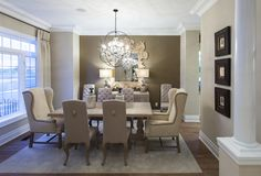 Model Home Dining Rooms Mesmerizing Marco Round Table  Blue River Traders  Livining Room  Pinterest Inspiration Design