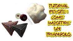 Tutorial Perline Peyote-come imbottire un ciondolo