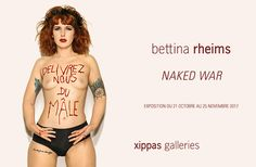 Expo Photographie Contemporaine: Bettina RHEIMS  « Naked War »