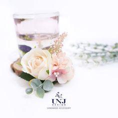 Bridal hair accessories, Wedding flower hairclip, Wedding hair accessories, Bridal hairclip, Flower Brooch by UNJdesign on Etsy