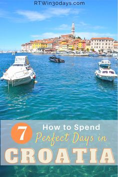 Croatia boasts some of the world's most spectacular natural wonders. From stunning beaches and sunny islands to national parks and seaside villages, you could spend months trying to see it all. But if you only have a week, this 7-day itinerary showcases some of Croatia's top destinations. From the seaside town of Rovinj to the historic walled city of Dubrovnik, here's your guide to the best of everything in between (plus driving tips)! #travel #croatia #photography #dubrovnik #thingstodo Best Romantic Getaways, Best Weekend Getaways, Romantic Honeymoon, Romantic Travel, Best Solo Travel Destinations, Top Honeymoon Destinations, Romantic Destinations, Best Of Croatia, Seaside Village