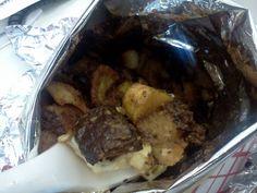 Frito pie in a Frito bag from Mei Mei Street Kitchen. www.facebook.com/hubfoodtrucks