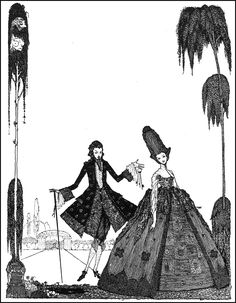 Harry Clarke, 1889 ~ 1931, The Fairy Tales of Anderson & Perault