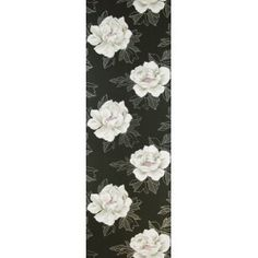 Cecily tapetti Floral Tie, Rugs, Wallpaper, Black, Home Decor, Farmhouse Rugs, Decoration Home, Black People, Room Decor