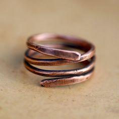 Shop Copper Mens Rings on Wanelo