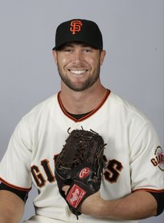 This is a 2015 photo of Hunter Strickland of the San Francisco Giants baseball team.