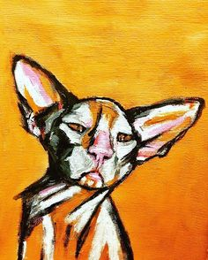 #sphynx #paintdrawdaily #painting #art #arta #artist #artwork #tablou #cat #acrylicpainting #acryliconcanvas #rox_paintings #showyourwork… Sphynx, Inspiring Art, Painting & Drawing, Moose Art, Paintings, Colorful, Artists, Cats, Artwork