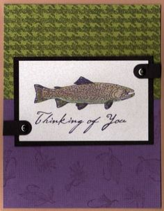 Fish Card (KBK) by kardsbykim - Cards and Paper Crafts at Splitcoaststampers
