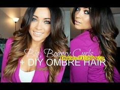 Ombre Wig 100% Human Hair Brazilian Remy Wavy T1B/30 Full Lace/Front Lace Wig