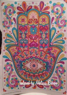 Hamsa, Zentangle, Coloring Pages, Peace, Colour, Crafts, Ideas, Home Decor, Toss Pillows